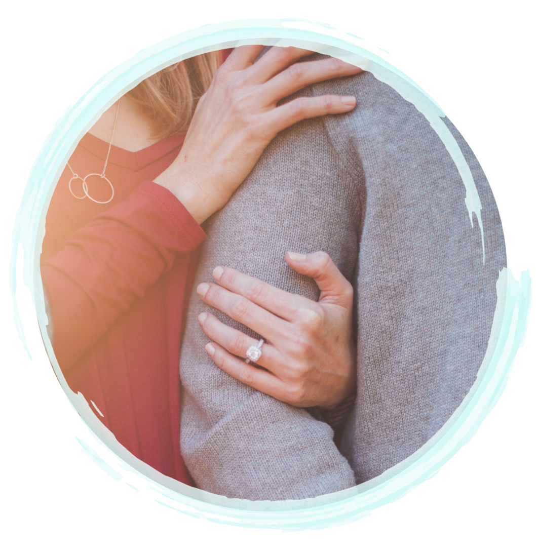 Couple Showing Affection With Locked Arms | Fort Myers Couples Therapy & Fort Lauderdale Couples Therapy by A Peaceful Mind Counseling Group | Couples Counselors In Fort Myers | Couples Counselors in Fort Lauderdale