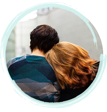 Couple Snuggling | You Are Not Alone | Fort Myers Addiction Therapy & Fort Lauderdale Addiction Therapy Services by A Peaceful Mind Counseling Group