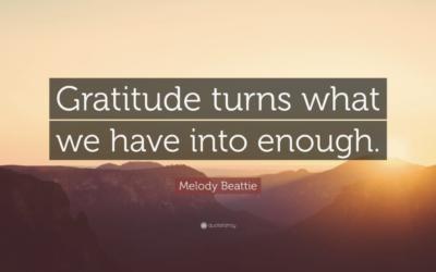 Gratitude Month